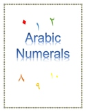 Arabic Number Chart