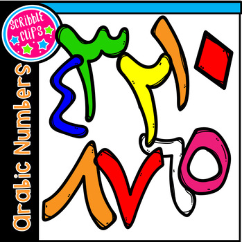 Arabic Number Clipart