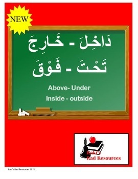 """Arabic Positional Words """"Inside, Outside, Above, Under"""""""