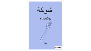 Arabic/English Vocabulary Cards - Mealtime (Egyptian conversational Arabic)