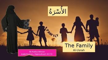 Arabic Vocabulary; The Family