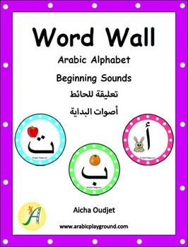 Arabic Word Wall – Arabic Alphabet Beginning Sound