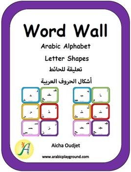 Arabic Word Wall – Arabic Alphabet Letter Shapes