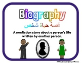 Arabic and English Genre Posters and Library Set!
