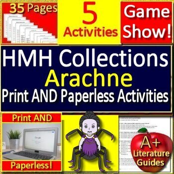 Arachne BUNDLE Introduction, Review Game, and Paperless Activities Google Drive