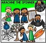 Arachne The Spinner  - Greek Myth Clip Art Bundle {Educlips Clipart}