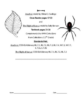 Arachne and The Flight of Icarus Test-