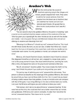 Arachne's Web - Greek and Roman Myth