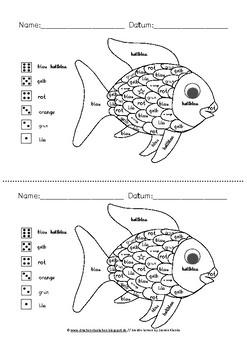 arbeitsbl tter und lap book vorlagen zum kinderbuch der regenbogenfisch. Black Bedroom Furniture Sets. Home Design Ideas