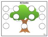 Arbol Genealogico - Family Tree in Spanish