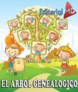 árbol Genealógico Para Niños Material Para Imprimir By Editorial Md