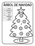 Árboles de Navidad - Spanish Learning Christmas Trees