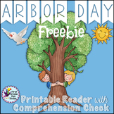 Arbor Day Reader with Comprehension Checks