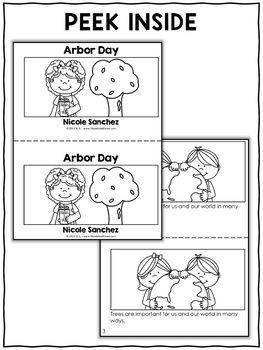 Arbor Day Worksheets Kindergarten