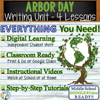 Arbor Day Writing BUNDLE! - Argumentative, Persuasive, Exp