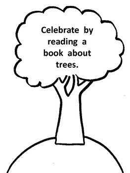 Arbor Day Book and Johnny Appleseed Activities