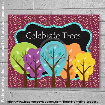 Arbor Day or Earth Day Poster  8x10 or 16x20