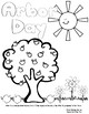 Arbor Day - Coloring Sheets