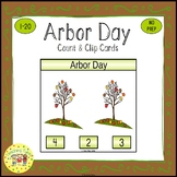 Arbor Day Clip Task Cards