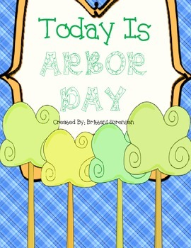 Arbor Day: Fun Student Activity Book to Learn About Trees