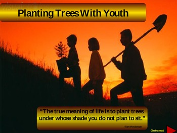 Arbor Day How To Plant Trees With Students