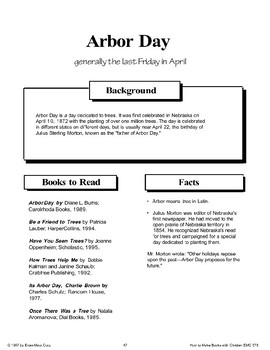 Arbor Day: Making Books