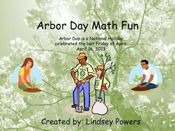Arbor Day Math Fun