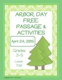 Arbor Day Passage- FREE