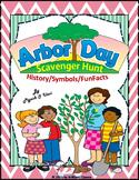 Arbor Day Scavenger Hunt - (History / symbols / Funfacts)