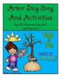 Arbor Day Song and Activities