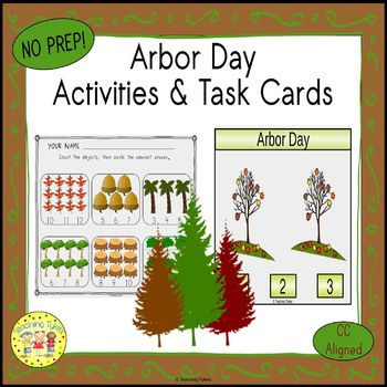 Arbor Day Worksheets Activities Games Printables and More