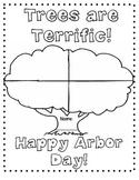 Arbor Day Worksheet