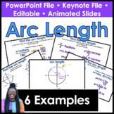Arc Length PowerPoint/Keynote Presentation