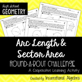 Arc Length & Sector Area of Circles: RoundABout Cooperativ