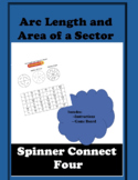 Arc Length and Area of Sector Connect 4