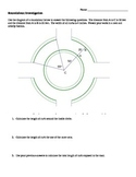 Arc Length and Area of Sectors Roundabouts Application