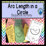 Arc Length in Circles Sequence Activity