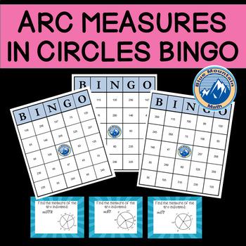Arc Measures in Circles Bingo
