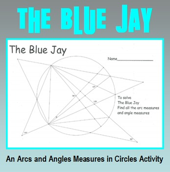 Arc Measures in Circles - The Blue Jay