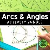 Arc and Angle Measures Bundle, Circle Theorems