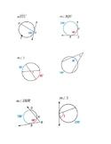 Arc and Angles of Circles Bingo