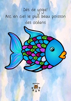 Arc-en-ciel le plus beau poissons - motricité