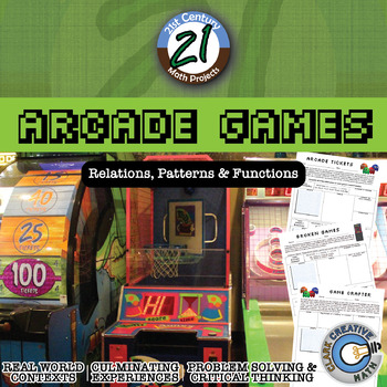 Arcade Games -- Relations, Patterns & Functions Project