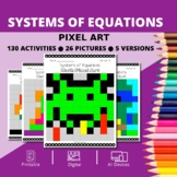 Arcade: Systems of Equations Pixel Art