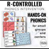 Phonics Intervention Games Bossy R Controlled