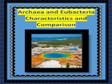 Archaebacteria and Eubacteria Characteristics and Comparing the Bacteria Domains