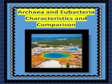 Archaebacteria and Eubacteria Characteristics and Comparin