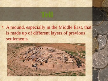 Archaeology - Archaeological Terms and Tools PowerPoint
