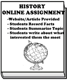 Archaeologists and Their Artifacts ONLINE ASSIGNMENT FOR GOOGLE CLASSROOM