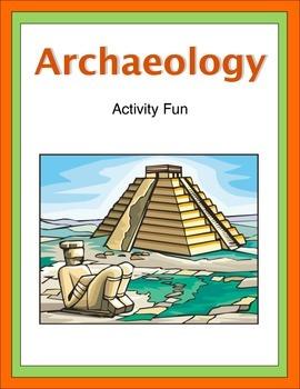 Archaeology Activity Fun